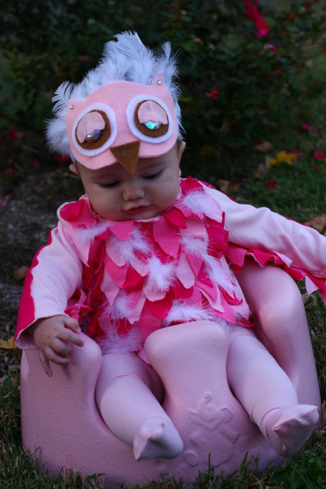 No-Sew Owl Costume Tutorial