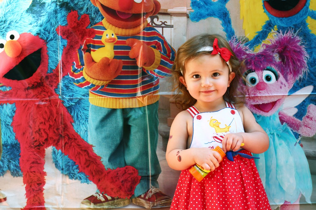 Handmade Sesame Street Dress for Sesame Street Party