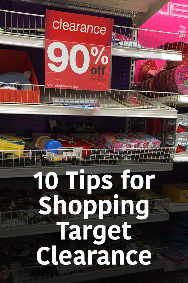 The best tips for shopping Target clearance, how to get deals at Target, where to find the Target deals and how to save money at Target. A must-pin