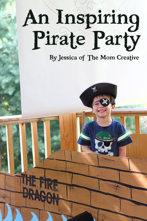 An Inspiring Pirate Birthday Party