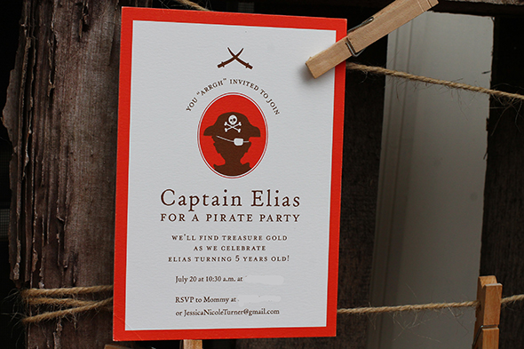 PiratePartyInvitation from Minted