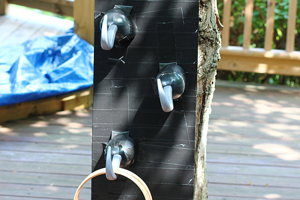 pirate party hook toss