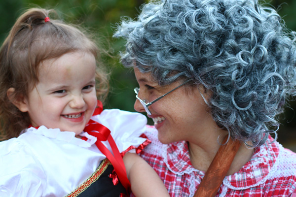 Little Red Riding Hood and grandma Halloween costumes