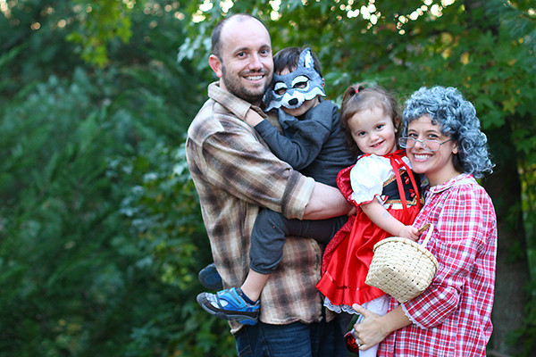 Little Red Riding Hood Family Halloween costumes