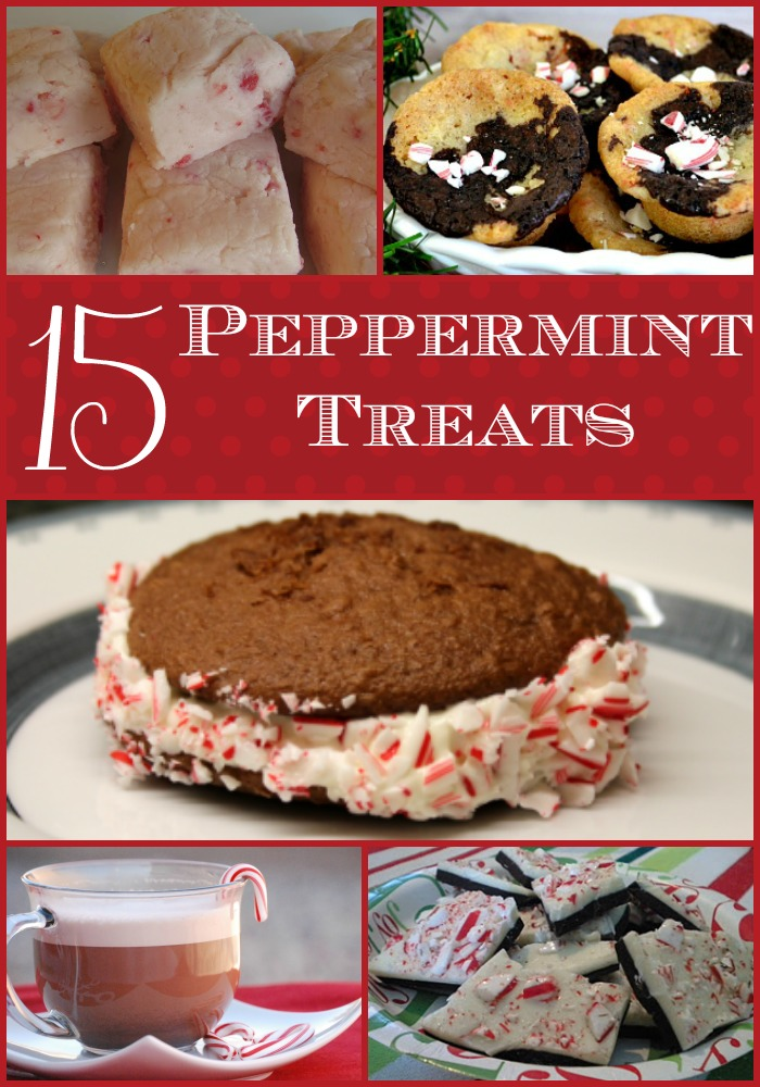 15 Peppermint Treats