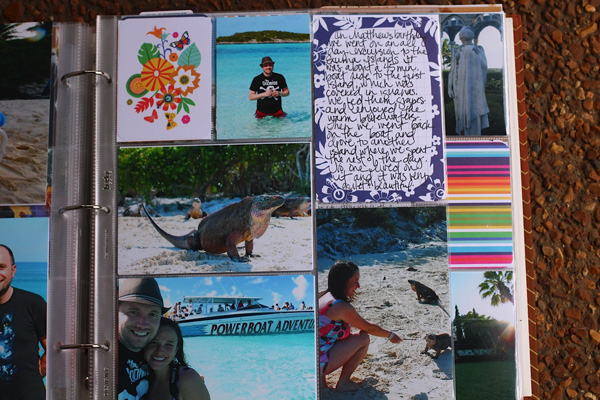 Project Life Vacation Pages