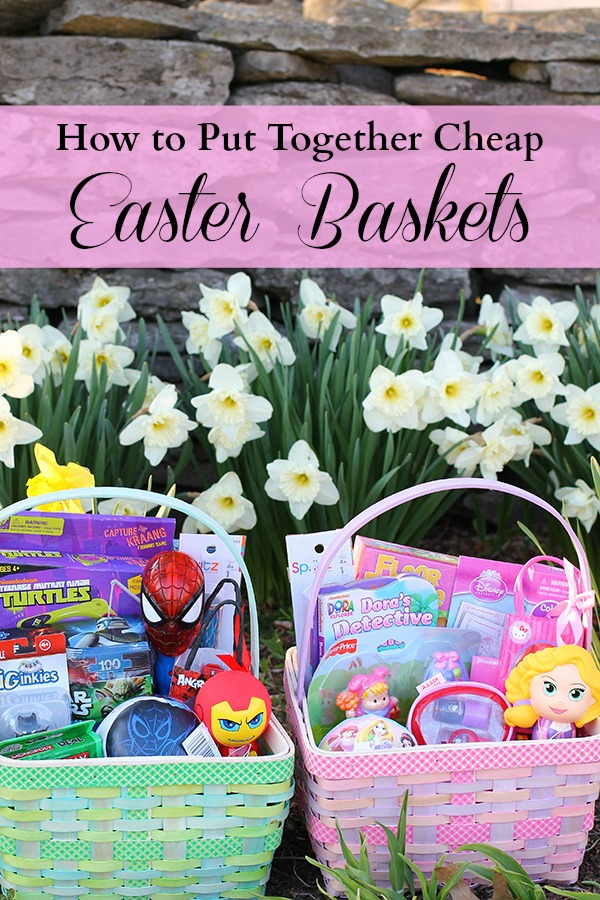 How to put together cheap Easter baskets