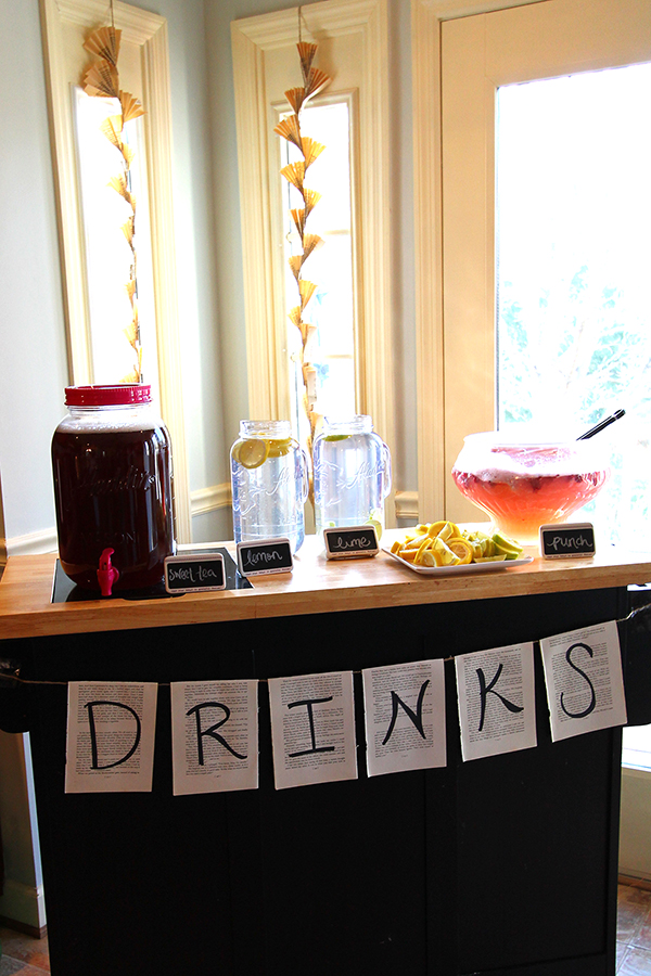 how to throw a simple party for 50 people
