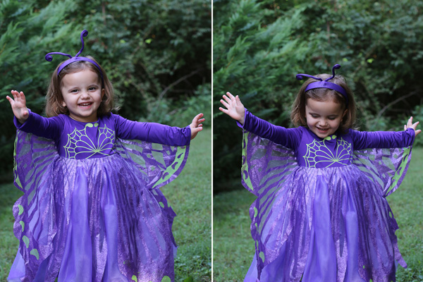 Chasing Fireflies Butterfly costume