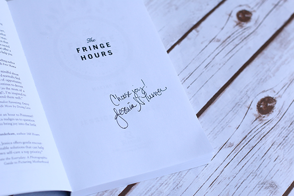 Autographed copy of The Fringe Hours