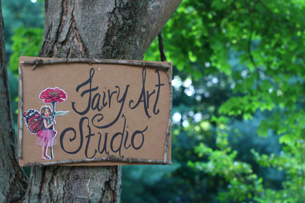 fairy house craft for fairy party