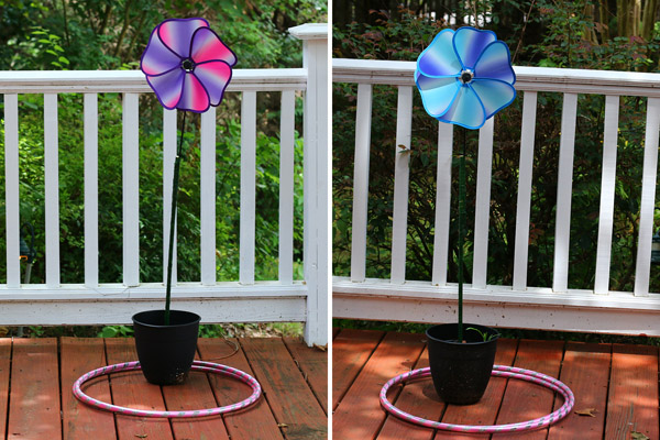 Flower ring toss game for fairy party game