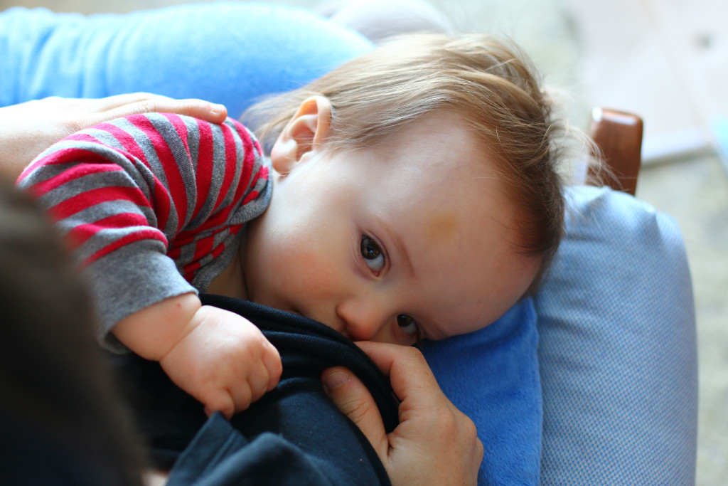 breastfeeding for the last time