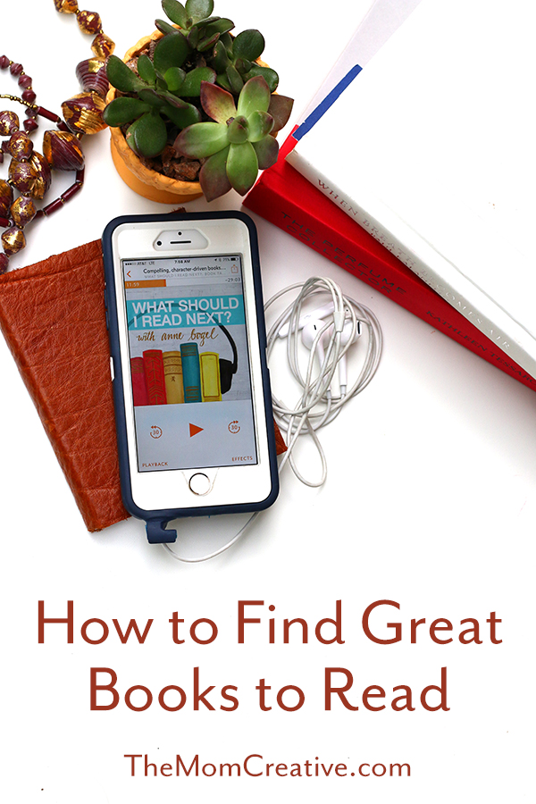 How to find great books to read