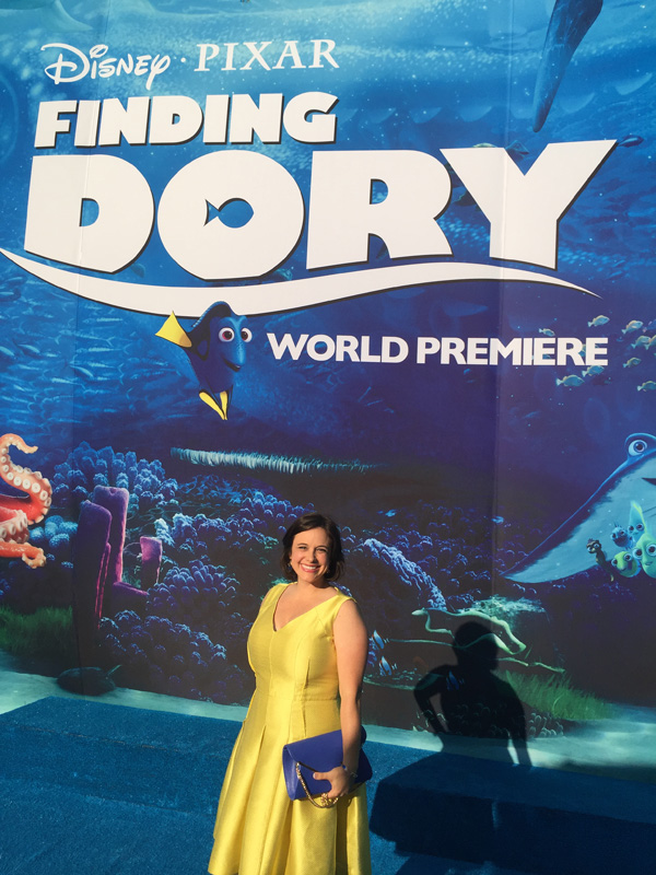 Finding Dory Movie Premiere with Ellen Degeneres