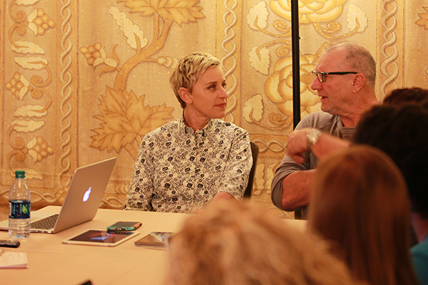 Finding Dory Interview with Ellen Degeneres and Ed ONeill