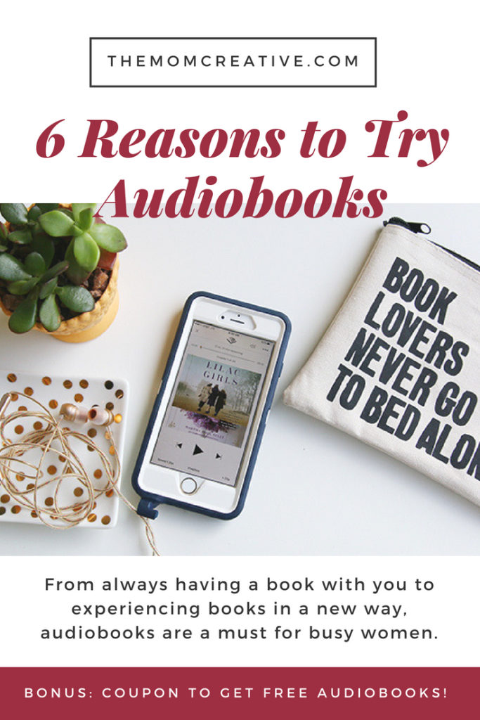 6 reasons to try audiobooks + get a free trial on audible.com