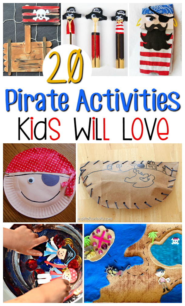 20 pirate activities kids will love perfect for pirate party activities