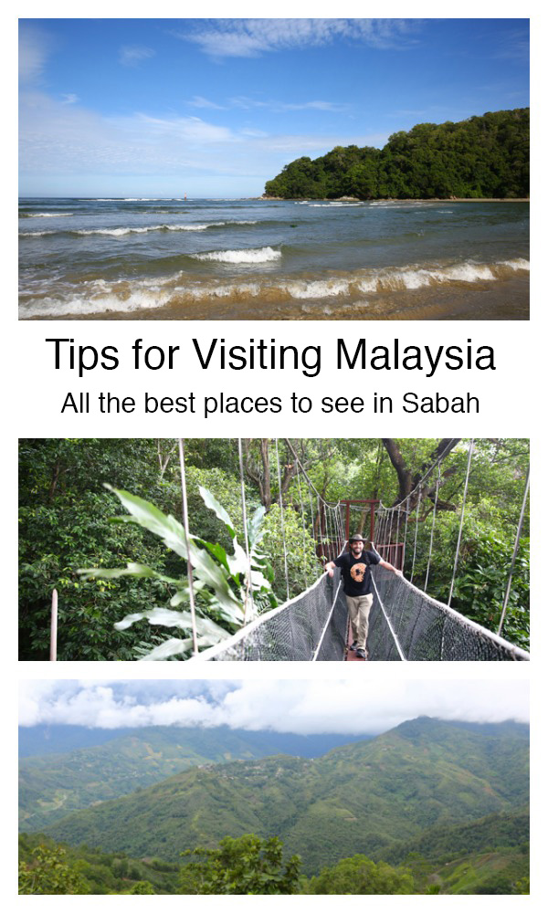 Tips for visiting the Sabah region of Malaysia