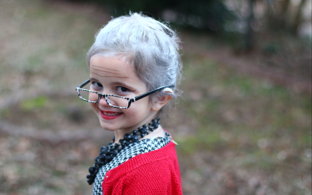 100 Year Old Kids For 100th Day Of School The Mom Creative