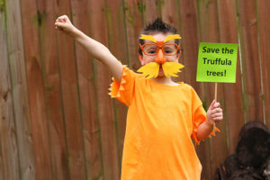 Dr Seuss the Lorax Book Character Costume Tutorial