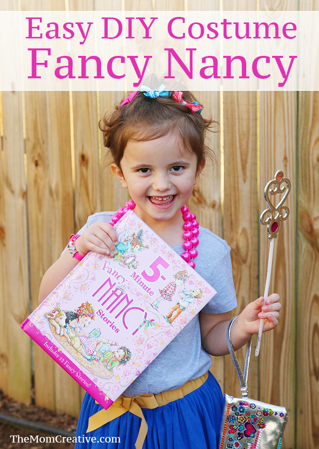 Book Character Costume Fancy Nancy Costume The Mom Creative