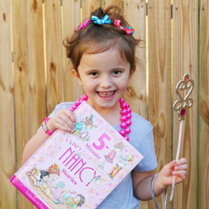 DIY Fancy Nancy Costume