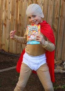 Captain Underpants book character costume