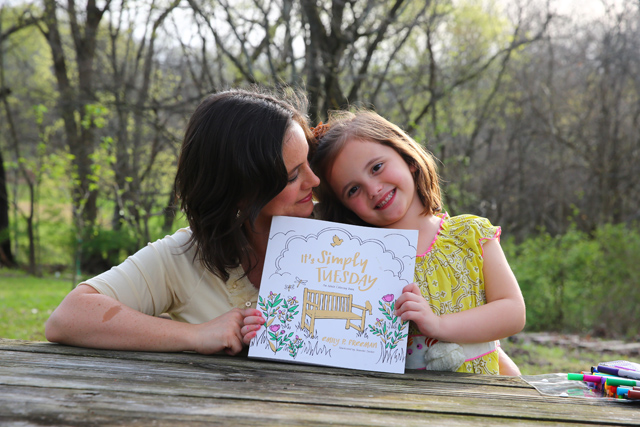 Benefits to coloring with your child