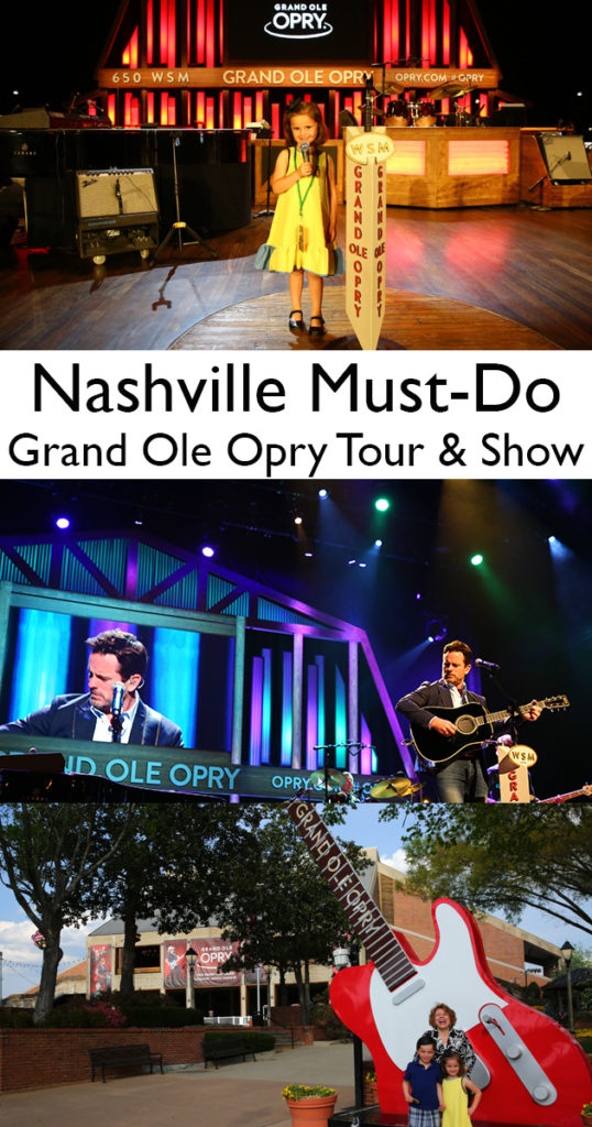 Nashville must-do: Grand Ole Opry Tour and Show