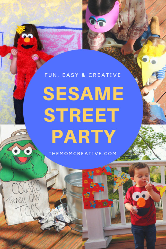 Sesame Street Party featuring Sesame Street themed games, Sesame Street foods, Sesame Street decorations and more. SO cute