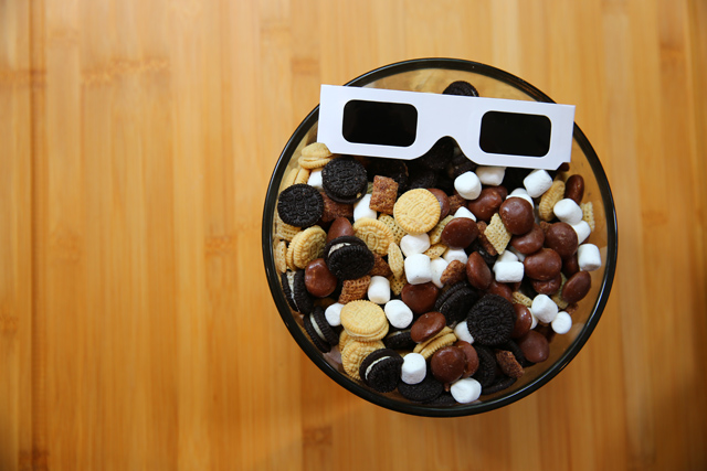 Total Solar Eclipse Treat Mix - Perfect Eclipse Party Food