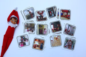 Elf on the Shelf Memory Game