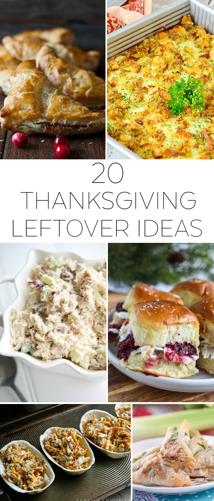 20 Thanksgiving leftover ideas