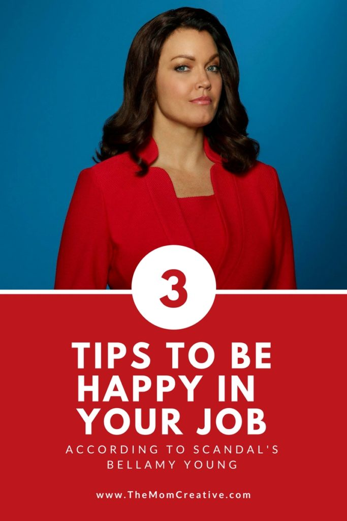 3 tips to be happy in your job according to Scandal's Bellamy Young