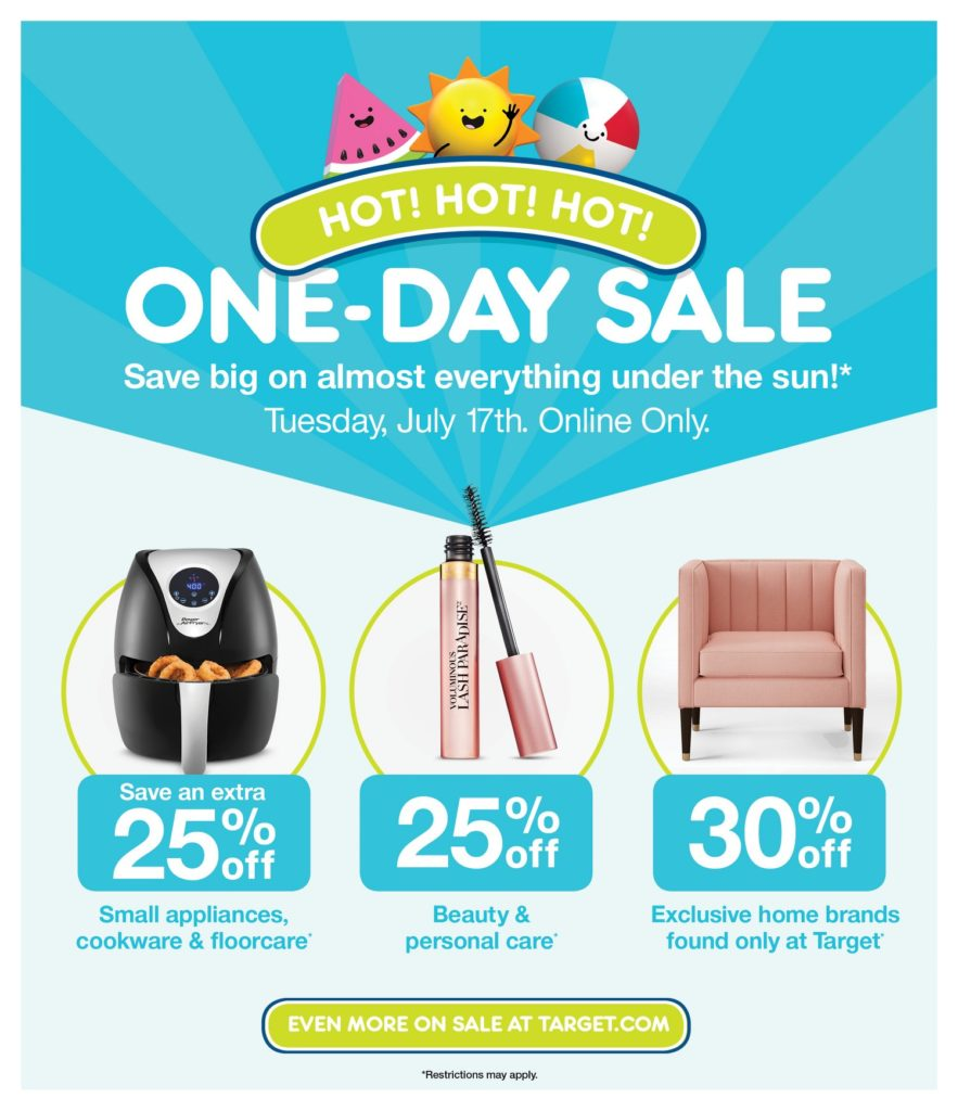 EXPIRED Target's Amazon Prime Day: One Day Only - The Mom