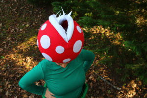 Costume Tutorial: Venus Flytrap + Pipe from Super Mario Bros.