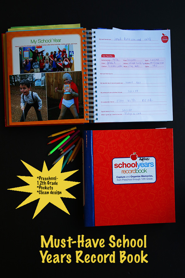Must-Have School Years Record Book