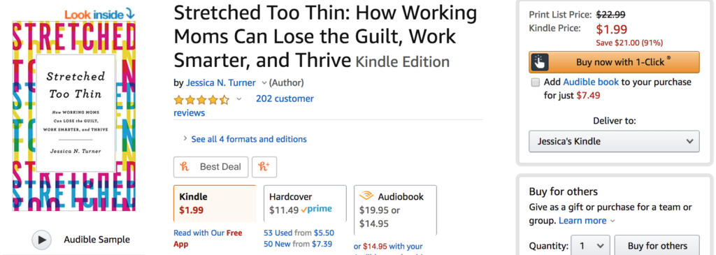 Stretched Too Thin for $1.99