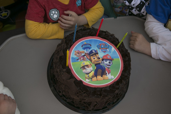 The Best Paw Patrol Party: Paw Patrol Cake