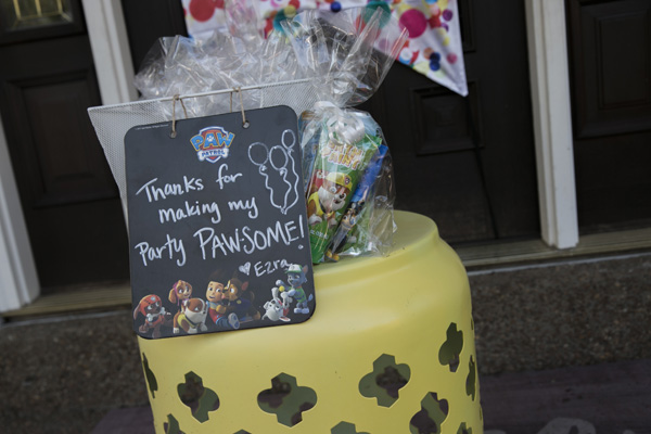 The Best Paw Patrol Party: Paw Patrol Party Favors