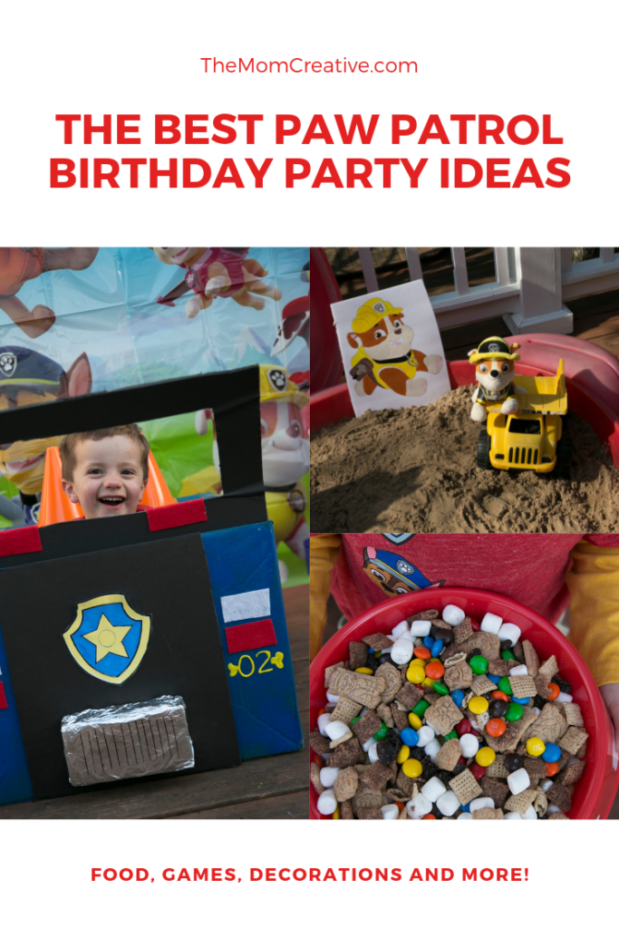 The Best Paw Patrol Party Ideas: Paw Patrol Games, Paw Patrol Cake, Paw Patrol Invitation and Paw Patrol Decorations