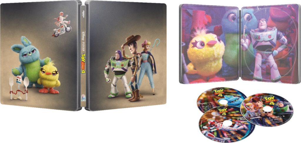 Toy Story 4 Steelbook Beauty Shot