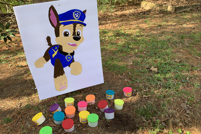 Paw Patrol Scavenger Hunt Chase Clue