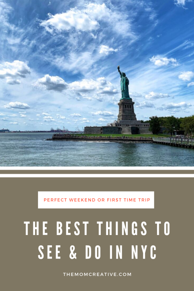 The best things to see and do in NYC - what to do on a first-time trip to NYC