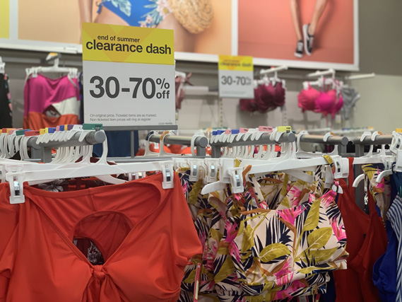 target summer clearance