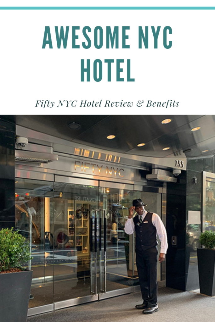 Awesome NYC Hotel: Full review of the FIFTY NYC, convenient to all major attractions