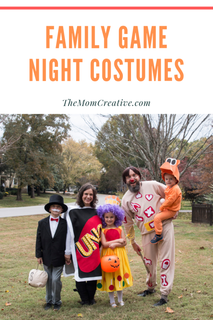 Family Game Night Halloween Costume Theme