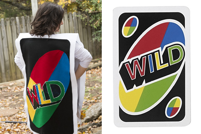 Uno card costume tutorial