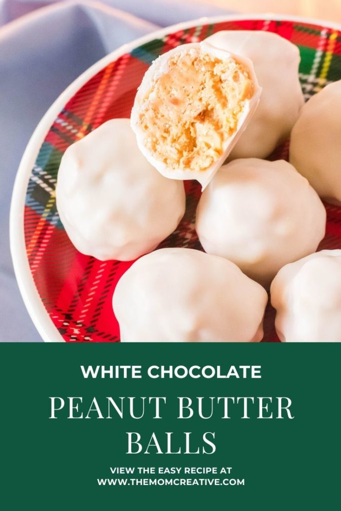 White Chocolate Peanut Butter Balls Recipe